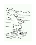 Rudolph da colorare 108