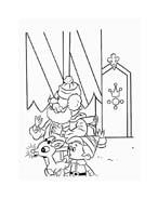 Rudolph da colorare 110