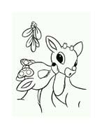 Rudolph da colorare 112