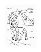 Rudolph da colorare 115
