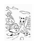 Rudolph da colorare 125