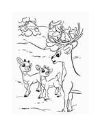 Rudolph da colorare 130