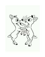 Rudolph da colorare 135
