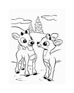 Rudolph da colorare 139