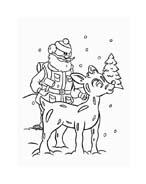 Rudolph da colorare 149
