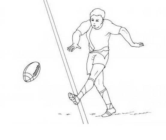 Rugby da colorare 8