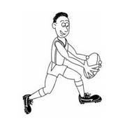 Rugby da colorare 11