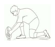 Rugby da colorare 15