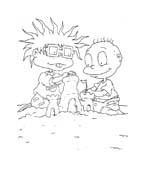 I Rugrats da colorare 120