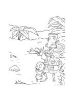 I Rugrats da colorare 138