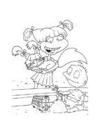 I Rugrats da colorare 143