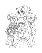Sailor moon da colorare