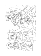 Sailor moon da colorare 2