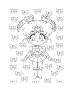 Sailor moon da colorare 3