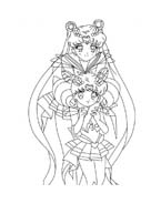 Sailor moon da colorare 4