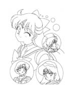 Sailor moon da colorare 5