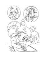 Sailor moon da colorare 9