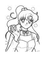 Sailor moon da colorare 11