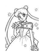Sailor moon da colorare 12