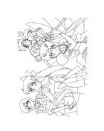 Sailor moon da colorare 13