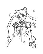 Sailor moon da colorare 15
