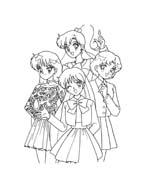 Sailor moon da colorare 16