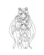 Sailor moon da colorare 18