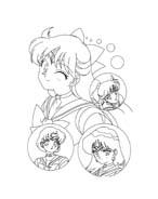 Sailor moon da colorare 19