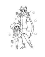 Sailor moon da colorare 25