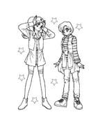Sailor moon da colorare 26