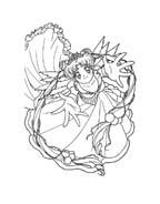 Sailor moon da colorare 27