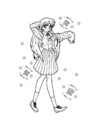 Sailor moon da colorare 29