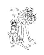 Sailor moon da colorare 30