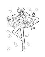 Sailor moon da colorare 32