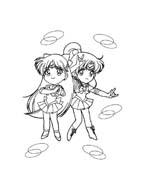 Sailor moon da colorare 34