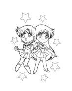 Sailor moon da colorare 35