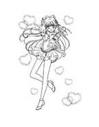 Sailor moon da colorare 36