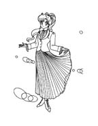 Sailor moon da colorare 38