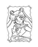 Sailor moon da colorare 39