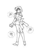 Sailor moon da colorare 42