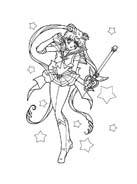Sailor moon da colorare 45