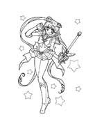 Sailor moon da colorare 45