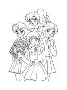 Sailor moon da colorare 49