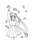 Sailor moon da colorare 50