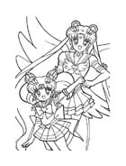 Sailor moon da colorare 55