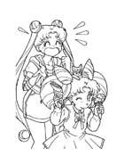 Sailor moon da colorare 56