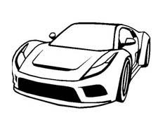 Automobile da colorare 397