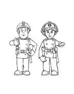 Sam il pompiere da colorare 5