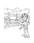 Sam il pompiere da colorare 21
