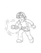 Sam il pompiere da colorare 57